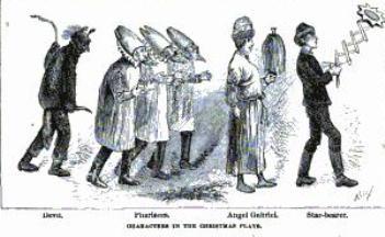 Christmas mummers, Christmas play